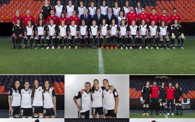 Fotografías Oficiales Valencia CF Femenino. Temporada 2017-2018