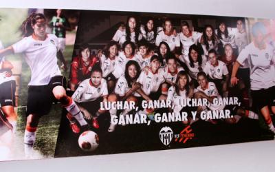 El VCF Femenino descubre su foto en Mestalla