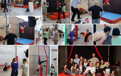 Un taller de Fotografía y Circo ¡por todo lo alto!