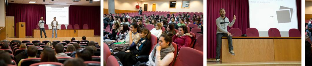 Seminario 'La fotografía en el contexto publicitario' en la UJI